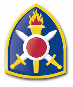 """Army 402nd Artillery Brigade 11.75"""" Patch Decal"""