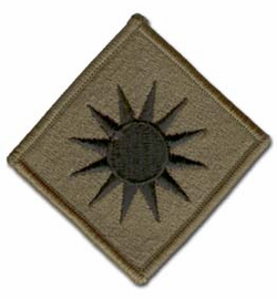Army 40th Infantry Brigade Subdued Military Patch