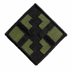 Army 411th Engineering Brigade Subdued Military Patch