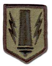 Army 41st Field Artillery Brigade Subdued Military Patch
