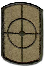 Army 420th Engineering Brigade Subdued Military Patch