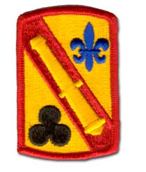 Army 42nd Field Artillery Brigade Military Patch