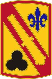Army 42nd Field Artillery Brigade Patch Decal