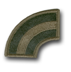 Army 42nd Infantry Division Subdued Military Patch