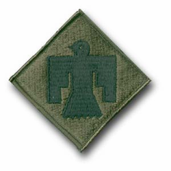 Army 45th Infantry Brigade Subdued Military Patch
