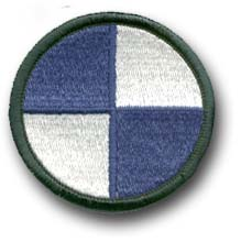 Army 4th Corps Military Patch