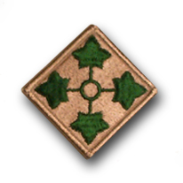 Army 4th Infantry Division Military Patch