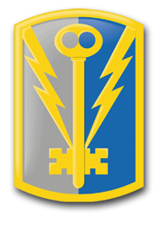 """Army 501st Military Intelligence Brigade 8"""" Patch Vinyl Transfer Decal"""