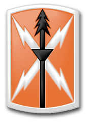 "Army 516th Signal Brigade 10"" Patch Vinyl Transfer Decal"