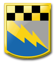 """Army 525th Military Intelligence Brigade 11.75"""" Patch Vinyl Transfer Decal"""