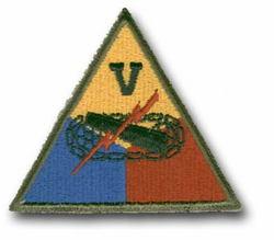 Army 5th Armored Military Patch