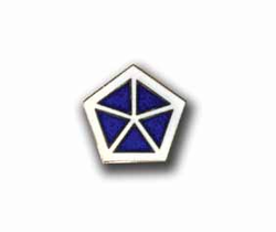Army 5th Army Corps Military Pin