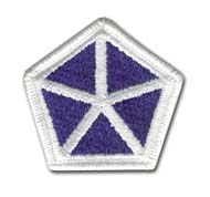 Army 5th Corps Military Patch