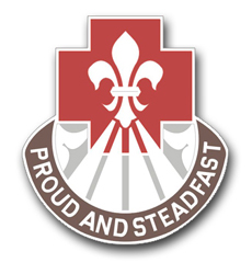 Army 62nd Medical Group Unit Crest  Vinyl Transfer Decal