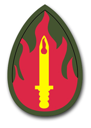 "Army 63rd Infantry 10"" Patch Vinyl Transfer Decal"
