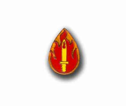 Army 63rd Infantry Division Military Pin