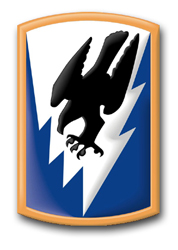 """Army 66th Aviation Brigade 8"""" Patch Decal"""