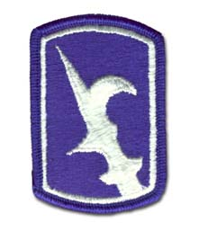 Army 67th Infantry Brigade Military Patch