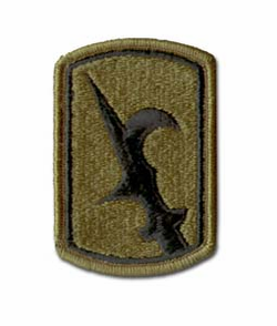 Army 67th Infantry Brigade Subdued Military Patch