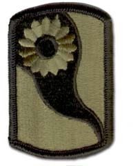 Army 69th Infantry Brigade Subdued Military Patch