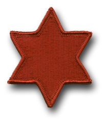 Army 6th Infantry Division Military Patch