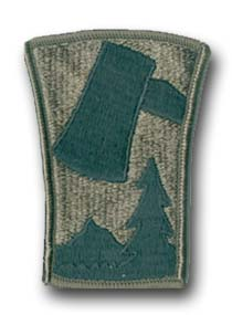 Army 70th Infantry Division Subdued Military Patch