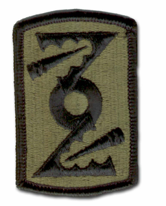 Army 72nd Field Artillery Subdued Military Patch