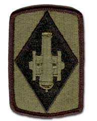 Army 75th Field Artillery Brigade Subdued Military Patch