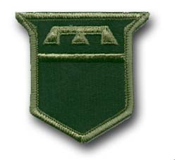 Army 76th Infantry Division Subdued Military Patch