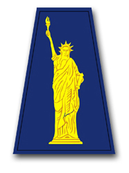 """Army 77th Regional Support Command 11.75"""" Patch Vinyl Transfer Decal"""