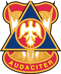 """Army 78th Division Unit Crest 5.5"""" Vinyl Transfer Decal"""