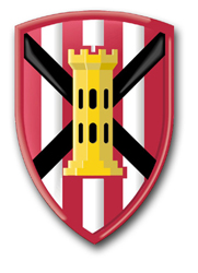 Army 7th Engineer Brigade Patch Decal