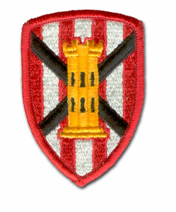Army 7th Engineering Brigade Military Patch