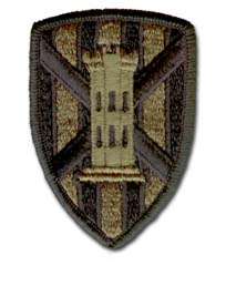 Army 7th Engineering Brigade Subdued Military Patch