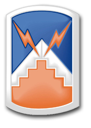 "Army 7th Signal Brigade 10"" Patch Decal"