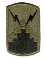 Army 7th Signal Brigade Subdued Military Patch