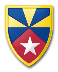 """Army 7th Support Command 11.75"""" Patch Decal"""