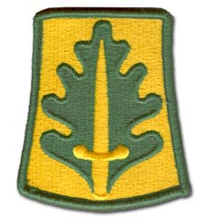 Army 800th Military Police Military Patch