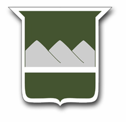 """Army 80th Training 11.75"""" Patch Vinyl Transfer Decal"""