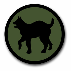 """Army 81st Regional Support Command 11.75"""" Patch Decal"""