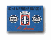 """Army 82nd Airborne """" All American """" 3' X 5' Military Flag"""
