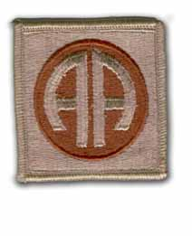 Army 82nd Airborne Division Desert Military Patch