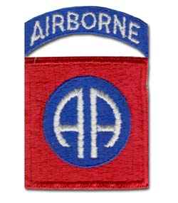 Army 82nd Airborne Division Military Patch