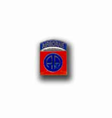 Army 82nd Airborne Mini Military Pin