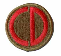 Army 85th Infantry Division Military Patch