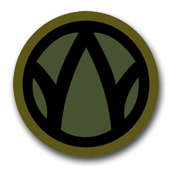 """Army 89th Regional Support Command 8"""" Patch Decal"""