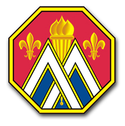 "Army 89th Regional Support Command Unit Crest 3.8"" Decal"