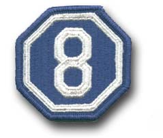 Army 8th Corps Military Patch