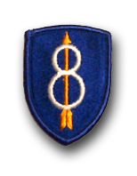 Army 8th Infantry Division Military Patch