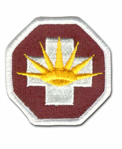 Army 8th Medical Brigade Military Patch